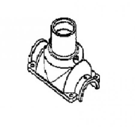 801-00-914  Корпус верхний редуктора заклейщика  Comarme