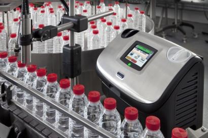 LINX CJ400 маркировка бутылок