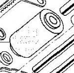 801-03-968 Ролик тефлоновый