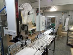 Запуск Линии по этикетировке и упаковке сыра